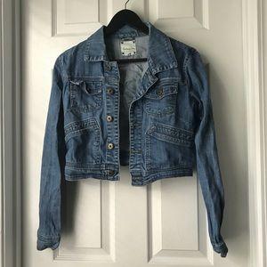 Forever21 cropped denim jacket